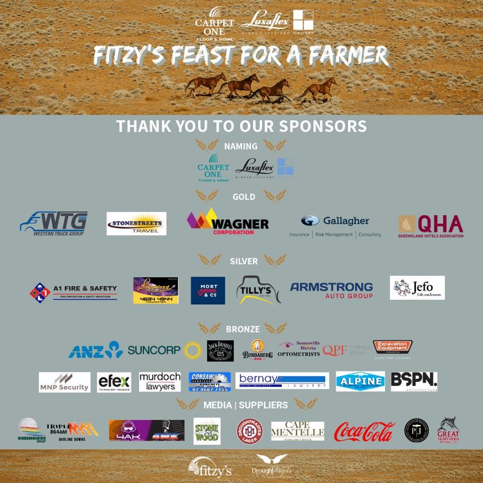Fitzy's Feast Sponsors