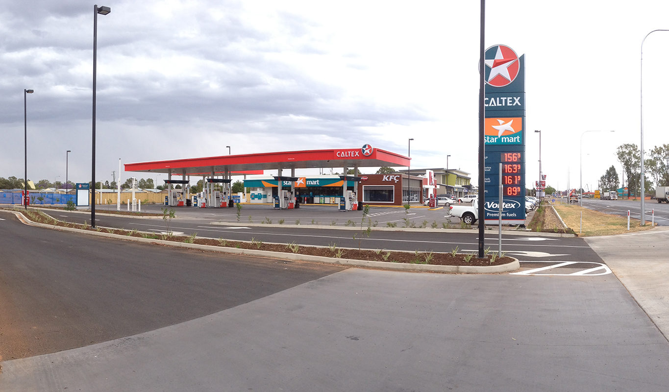 Livewired Electrical Caltex KFC
